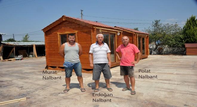 3 bin yıllık teknikle ahşap ev üretiyorlar
