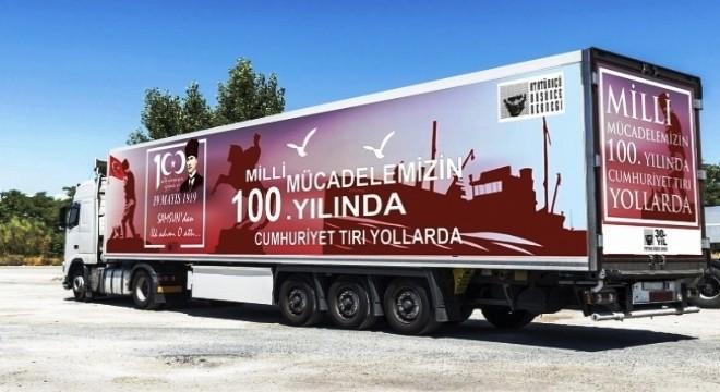 ADD Cumhuriyet TIR'ı Çeşme'ye geliyor