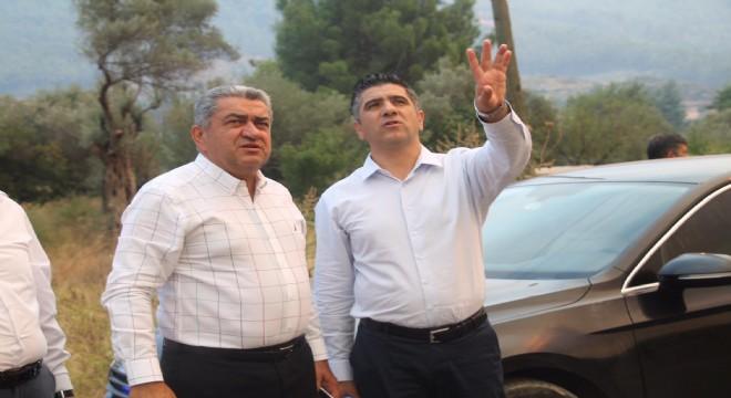 CHP'li Serter'den Bakan Pakdemirli'ye orman yangını tepkisi