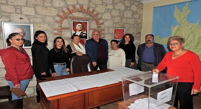 Çeşme CHP'de delege seçimleri tamamlandı