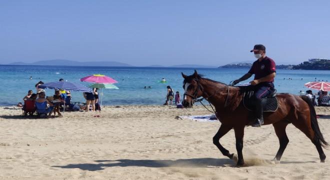 Çeşme Plajları Atlı Birliklere emanet!