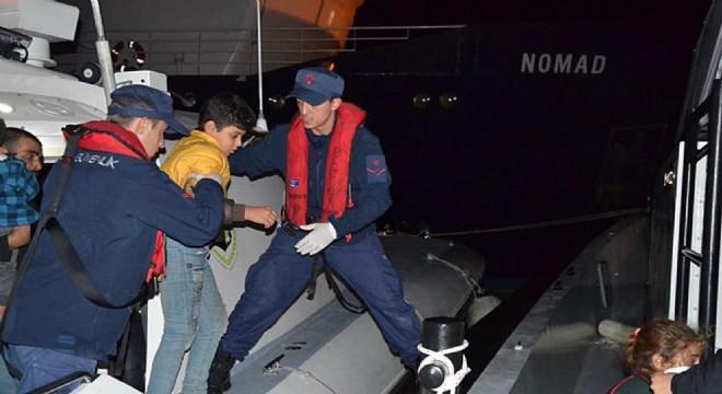 Çeşme'de 171 Düzensiz Göçmen'i Sahil Güvenlik kurtardı!