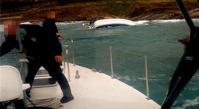 Çeşme'den çalınan tekne Yunanistan'da bulundu!