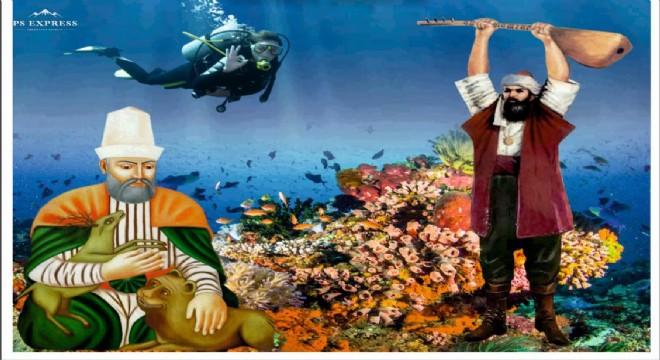Hacı Bektaş Veli ve Pir Sultan Abdal denizle buluşuyor!