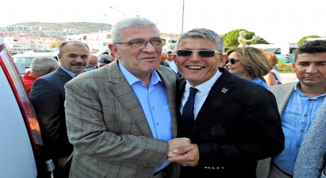 İYİ Parti Grup Başkan Vekili Dervişoğlu, Çeşme'yi ziyaret etti