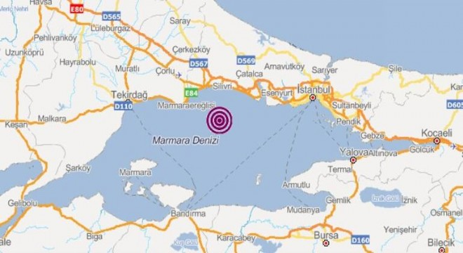 İstanbul 4.7 ile sallandı!