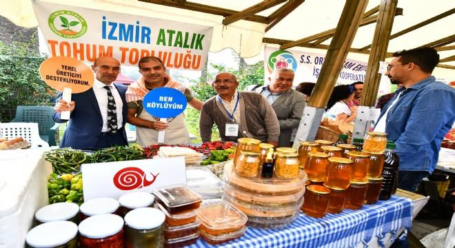 Kültürpark Üretici Pazarı Açıldı